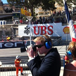 12 view on track from the back of the boat grand prix de monaco