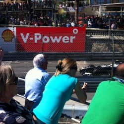 14 view on track from the back of the boat grand prix de monaco