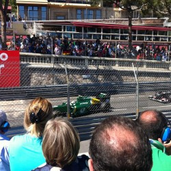 16 view on track from the back of the boat grand prix de monaco