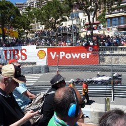 17 view on track from the back of the boat grand prix de monaco