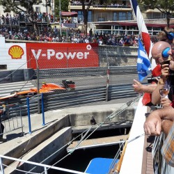 26 view on track from the back of the boat grand prix de monaco