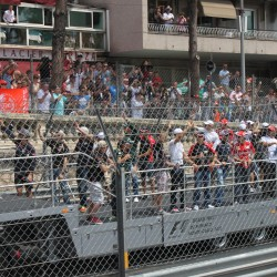 04 f1 pilots parade and prince opening the track monaco grand prix