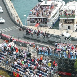 07 f1 pilots parade and prince opening the track monaco grand prix