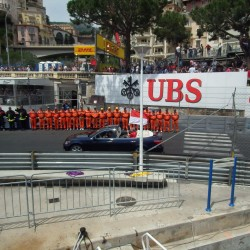 08 f1 pilots parade and prince opening the track monaco grand prix