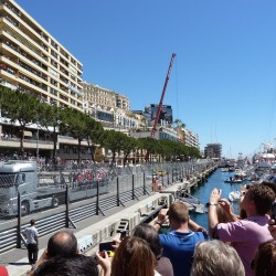 11 f1 pilots parade and prince opening the track monaco grand prix