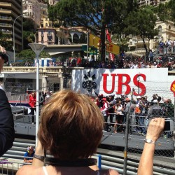 13 f1 pilots parade and prince opening the track monaco grand prix