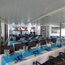 07 boat dining room monaco grand prix