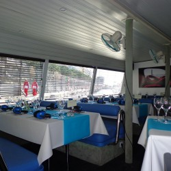 09 boat dining room monaco grand prix