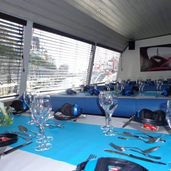11 boat dining room monaco grand prix