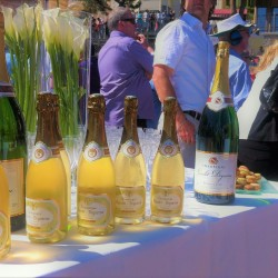 10 champagne at the end of the monaco grand prix