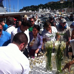 14 champagne at the end of the monaco grand prix
