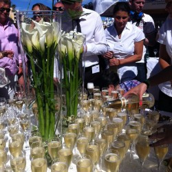 15 champagne at the end of the monaco grand prix