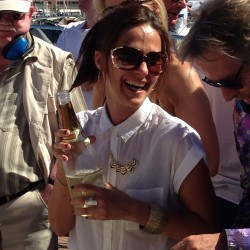 18 champagne at the end of the monaco grand prix
