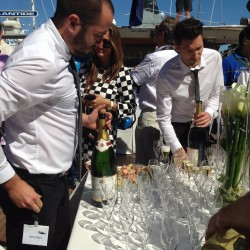 19 champagne at the end of the monaco grand prix