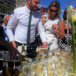 21 champagne at the end of the monaco grand prix