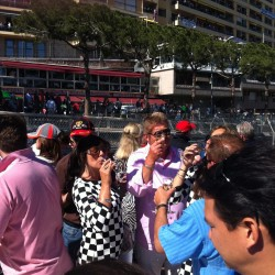 25 champagne at the end of the monaco grand prix