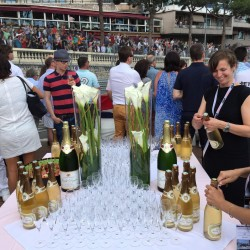 30 champagne at the end of the monaco grand prix