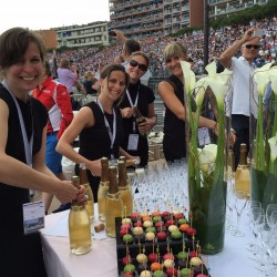 31 champagne at the end of the monaco grand prix