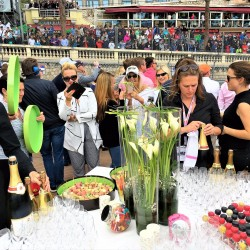 36 champagne at the end of the monaco grand prix