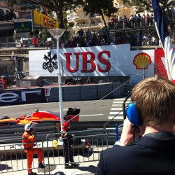 13 view on track from the back of the boat grand prix de monaco