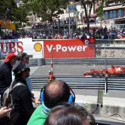 18 view on track from the back of the boat grand prix de monaco