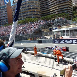 20 view on track from the back of the boat grand prix de monaco