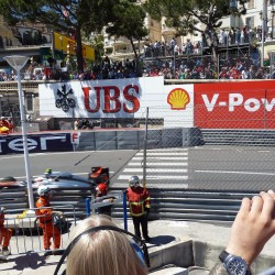 24 view on track from the back of the boat grand prix de monaco