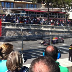27 view on track from the back of the boat grand prix de monaco