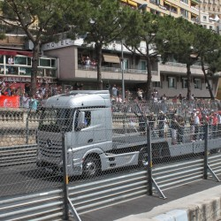 03 f1 pilots parade and prince opening the track monaco grand prix