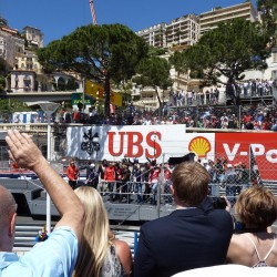 14 f1 pilots parade and prince opening the track monaco grand prix
