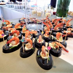 04 catering abord the boat saturday monaco grand prix