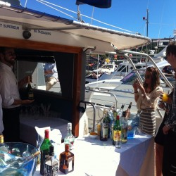 04 bar on boat s upper deck monaco grand prix