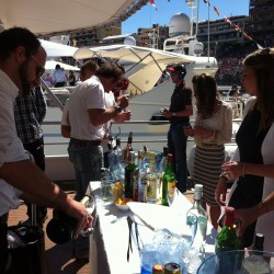05 bar on boat s upper deck monaco grand prix