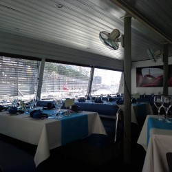08 boat dining room monaco grand prix