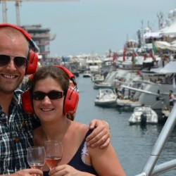 22 atmosphere on board monaco grand prix