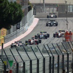 12 view of exit of tunnel and curve grand prix de monaco