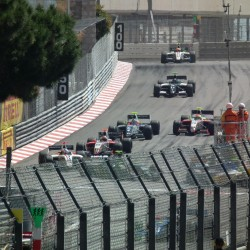 14 view of exit of tunnel and curve grand prix de monaco