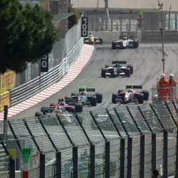 17 view of exit of tunnel and curve grand prix de monaco