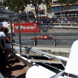 23 view on quai des etats unis speed line grand prix monaco