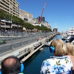 26 view on quai des etats unis speed line grand prix monaco