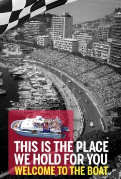 A bord de notre bateau ancré dans le Port de Monaco